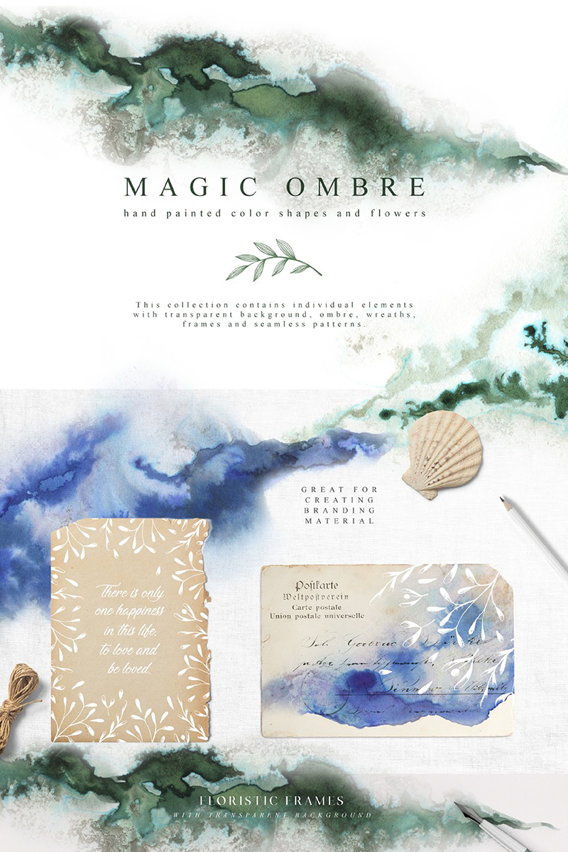 "Illustration namens ""Magic Ombre Collection"" #90954"