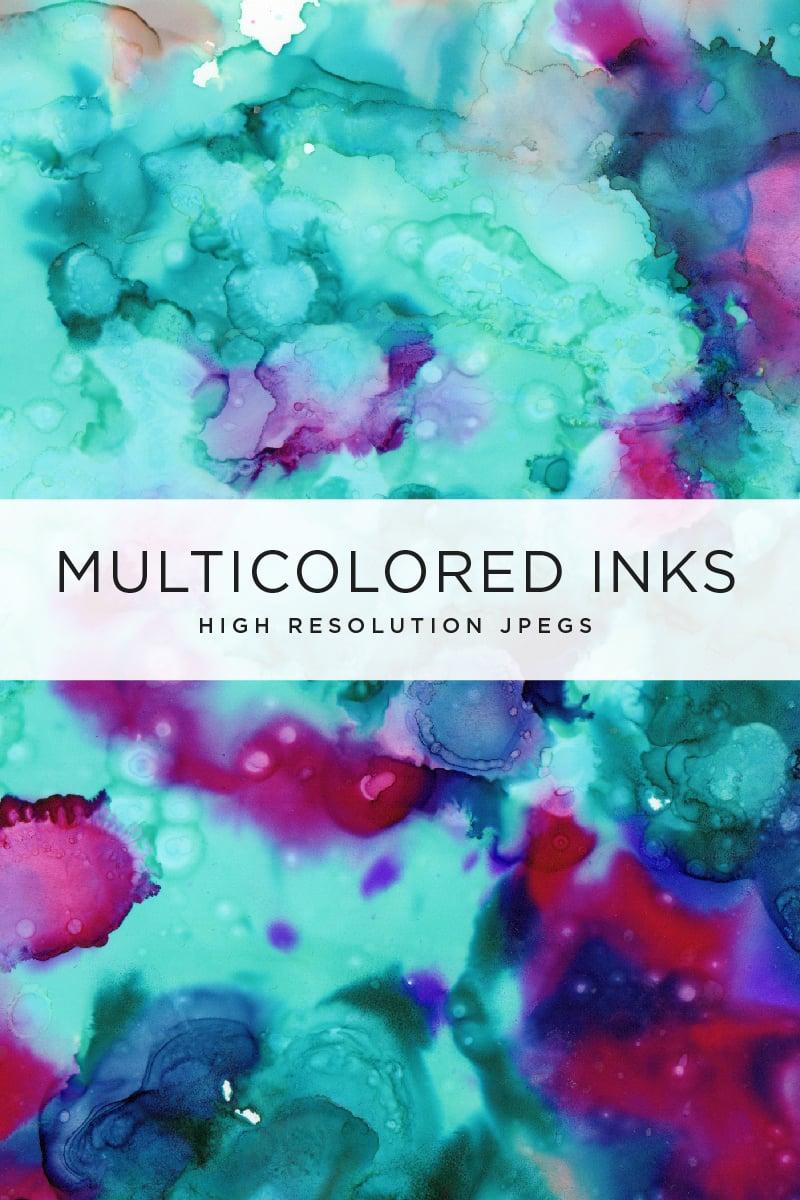 Multicolored Inks - Volume 1 Illustration - screenshot