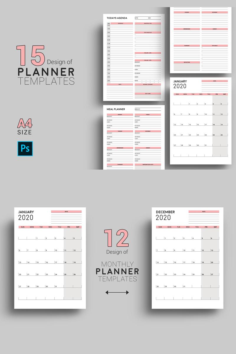 Sistec Daily Planner Calendar Design Planner
