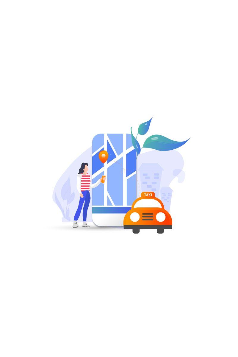 """Taxi"" 插图 #90985"