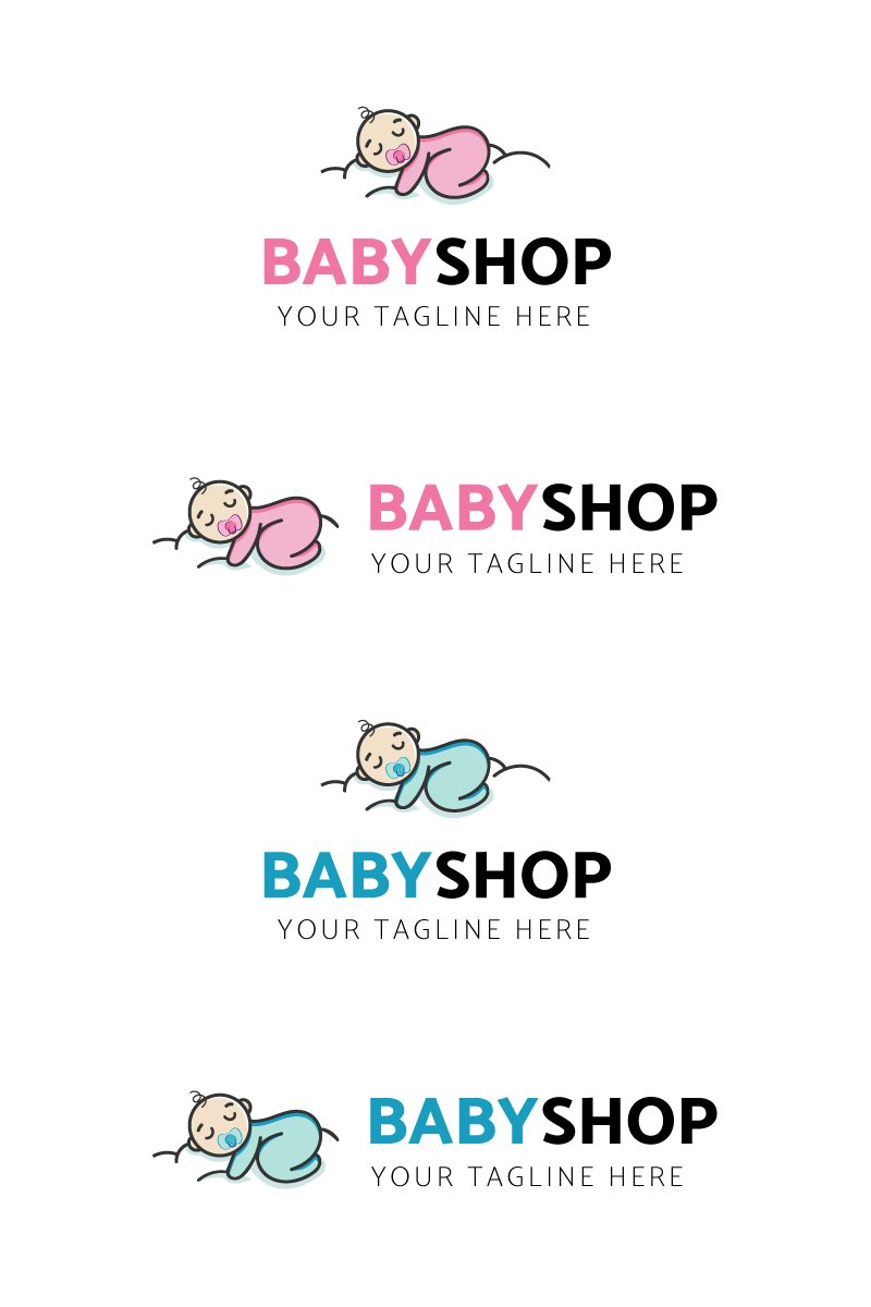Baby Shop Template de Logotipo №91058