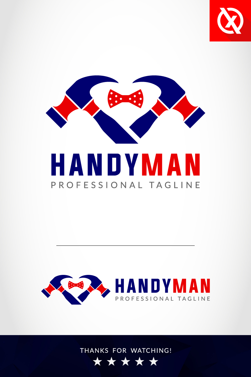 Handy Man Template de Logotipo №91059