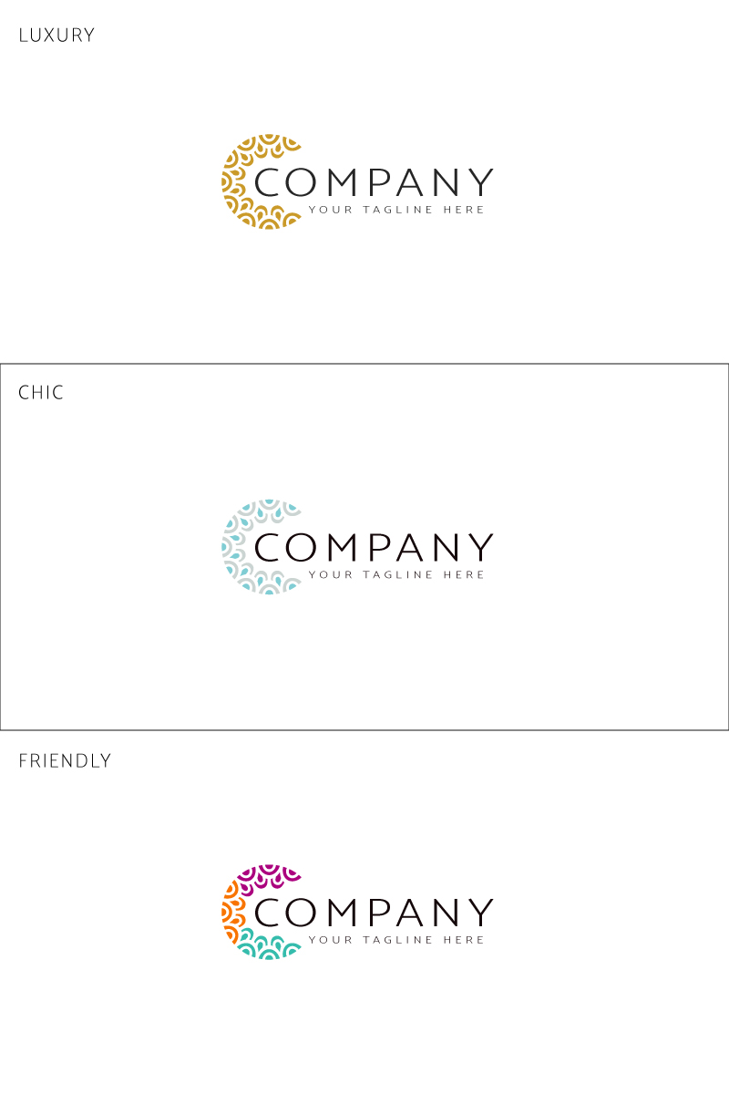 Luxury Template de Logotipo №91057