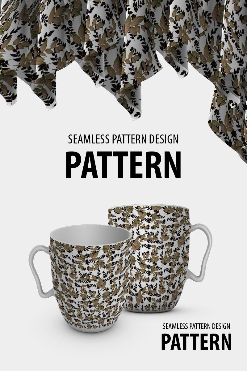 "Pattern ""Beautiful dry braches design"" #91031"