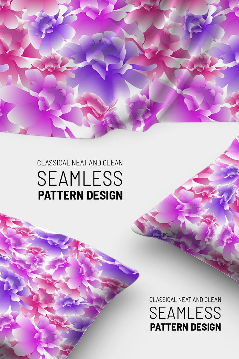 """Pattern namens """"Beautiful colorful floral repeat design"""" #91026"""