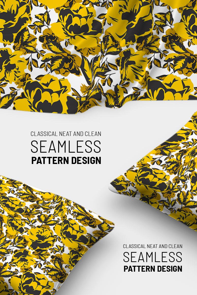"Pattern namens ""Beautiful floral design"" #91021"