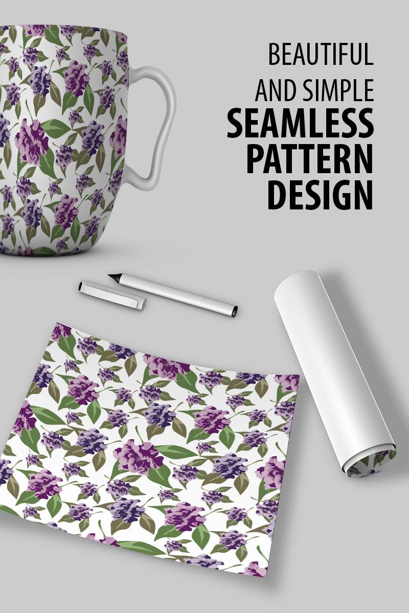 "Pattern namens ""Beautiful seamless floral design"" #91023"