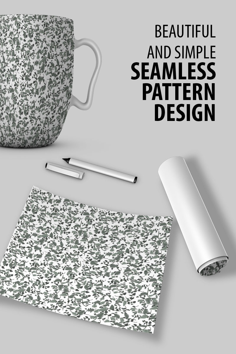 """Pattern namens """"Branches and leaves design"""" #91028"""