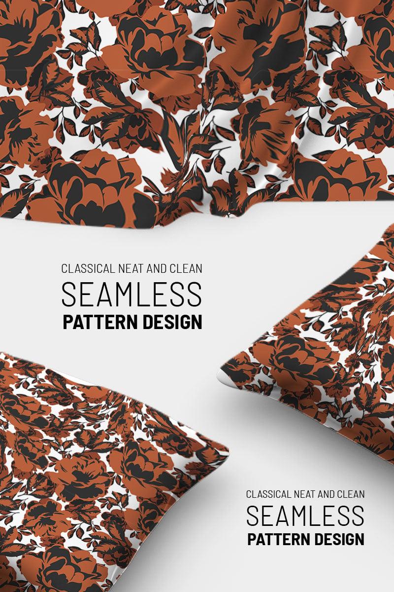 "Pattern namens ""Classic repeat floral design"" #91020"
