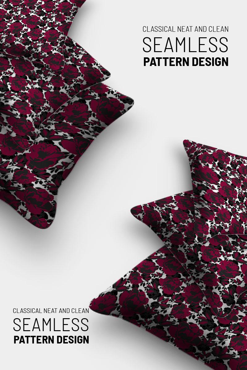 "Pattern namens ""Classic simple floral repeat design"" #91019"
