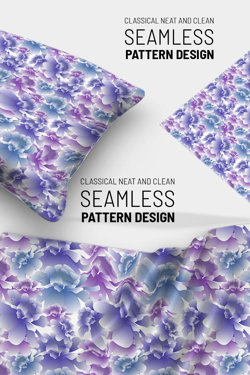 "Pattern namens ""Delicate beautiful floral design"" #91025"