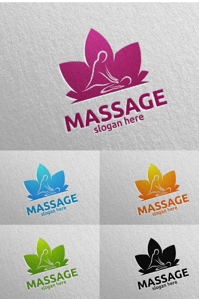 "Plantilla De Logotipo ""Massage Design  12"" #91042"