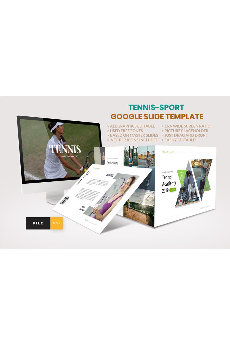 Tennis-Sport Google Slides 91094