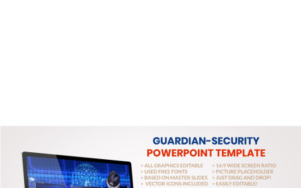 Guardian-Security PowerPoint Template