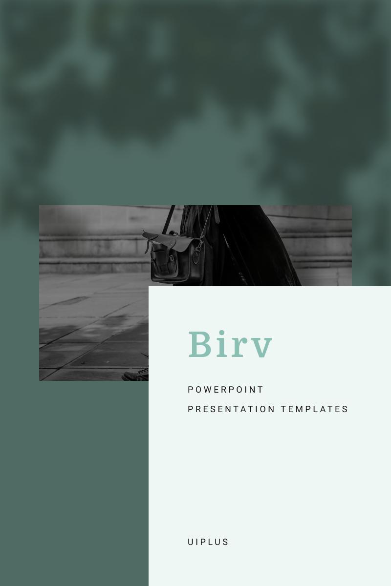 """BIRV"" modèle PowerPoint  #91133"