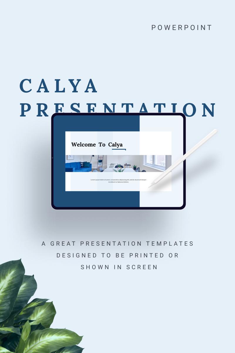 """CALYA"" modèle PowerPoint  #91132"