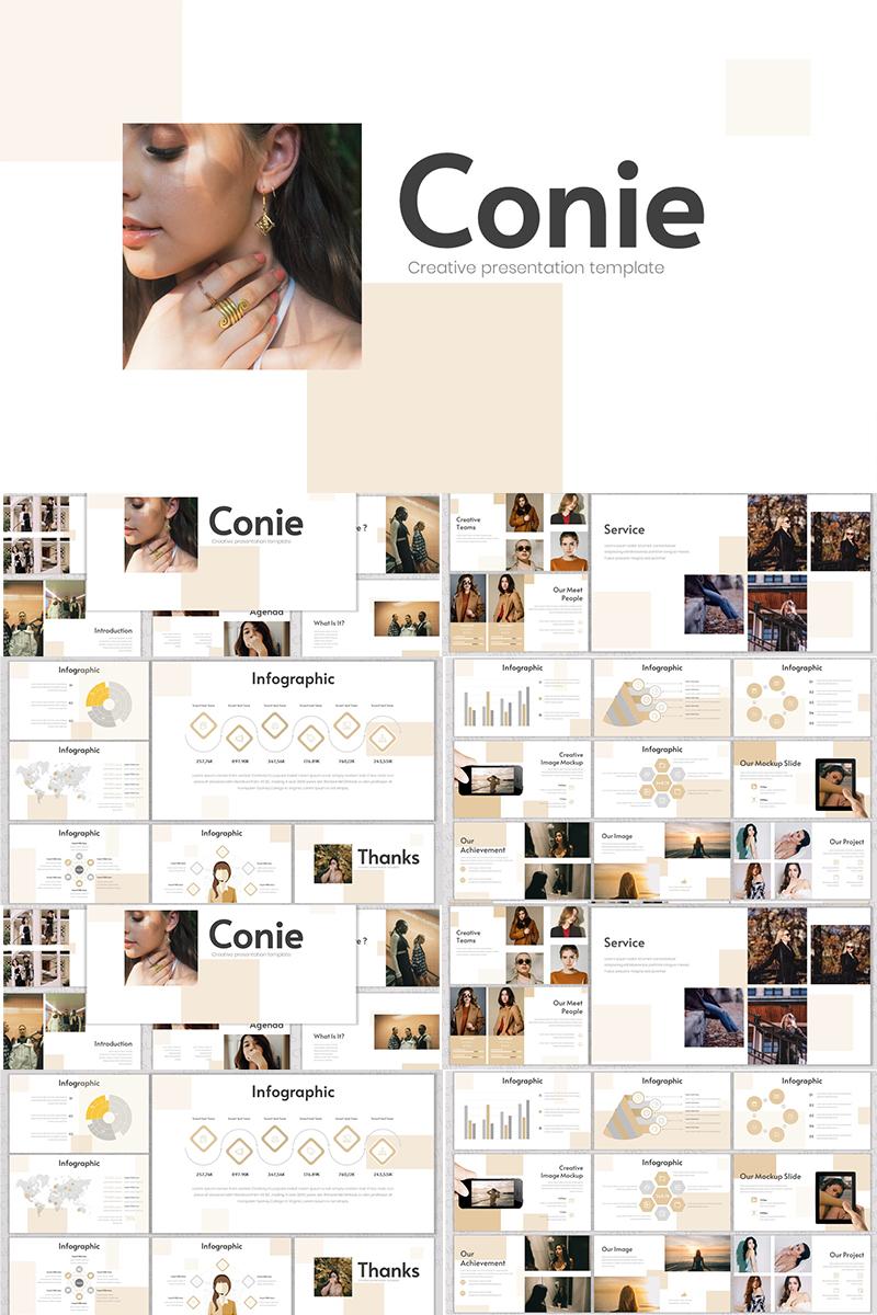 """""""Conie"""" Responsive Keynote Template №91150"""
