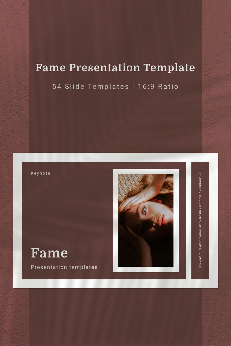 FAME Keynote Template #91136