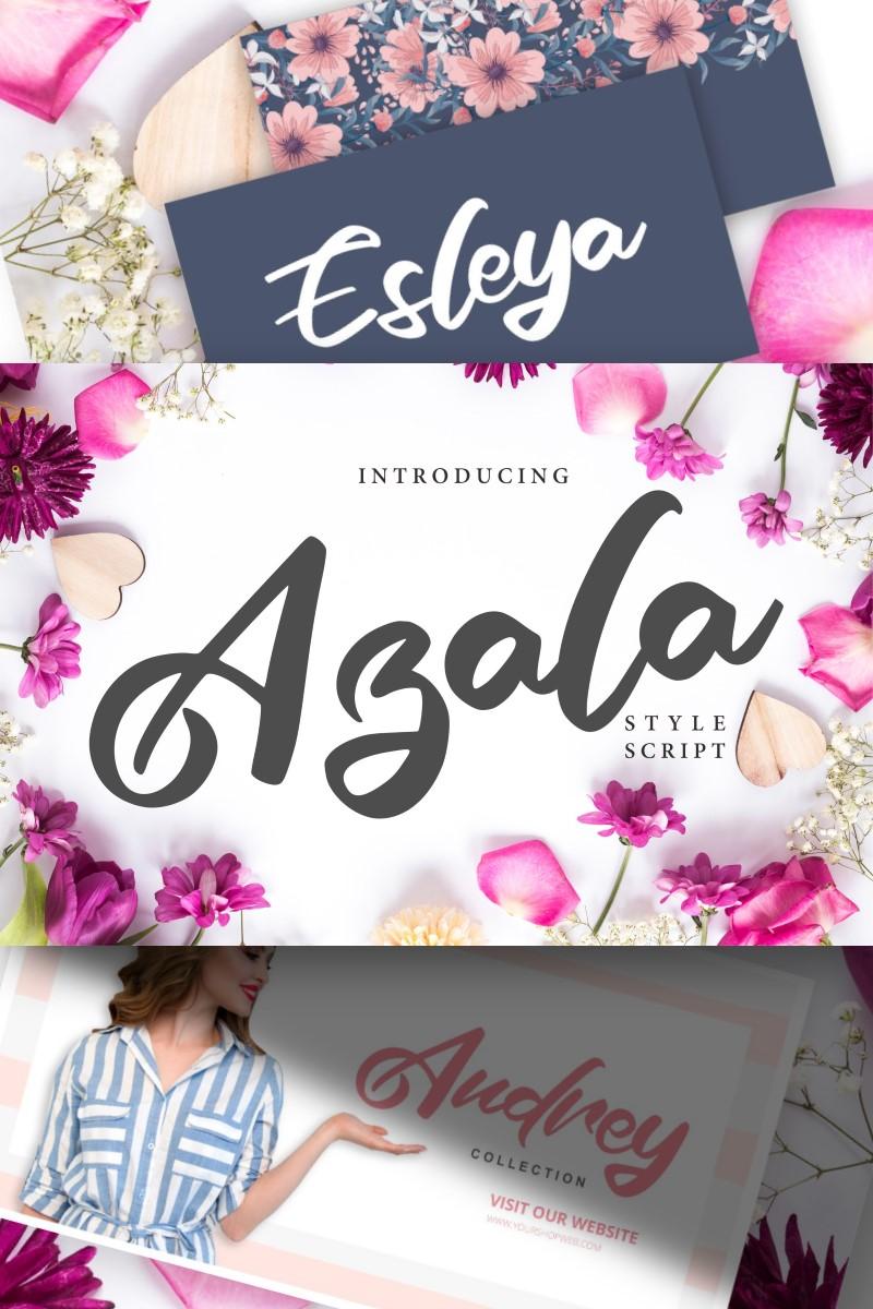 Azala | Style Script Font #91226