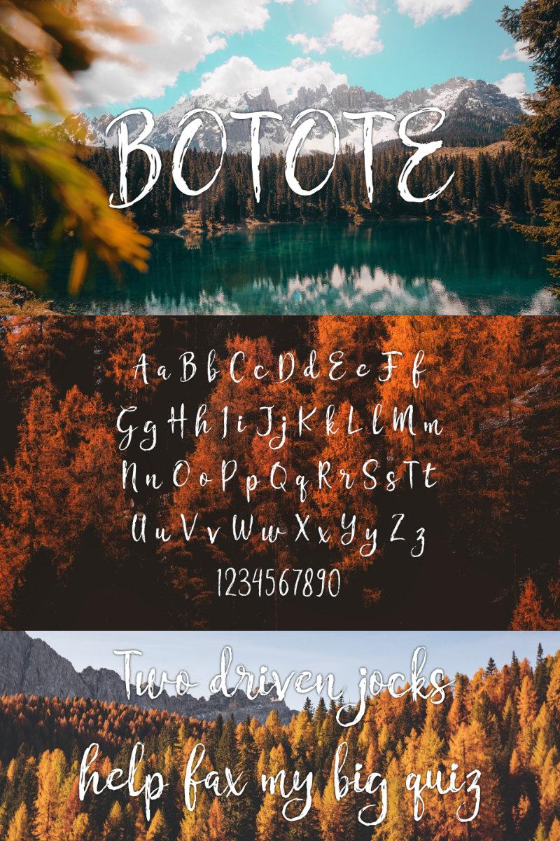 Botote Font