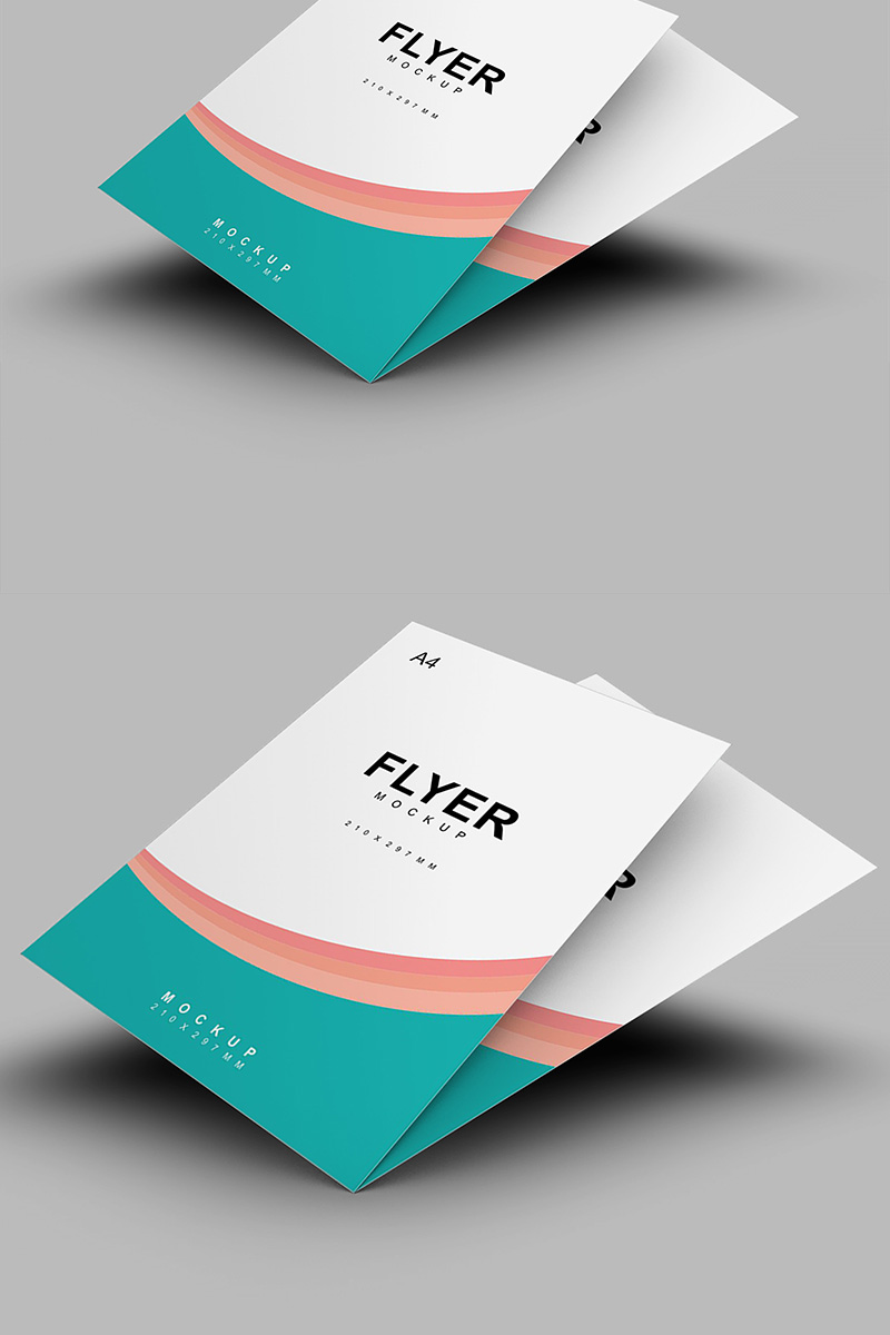 Classical A4 Flyer Product Mockup