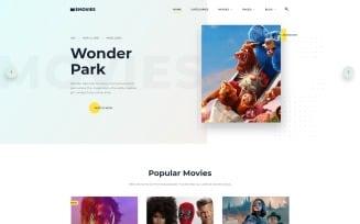 EMovies - Movie Streaming Website Template