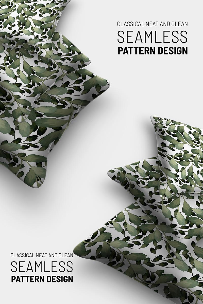"""Floral hand drawn beautiful seamless design"" Pattern №91249"