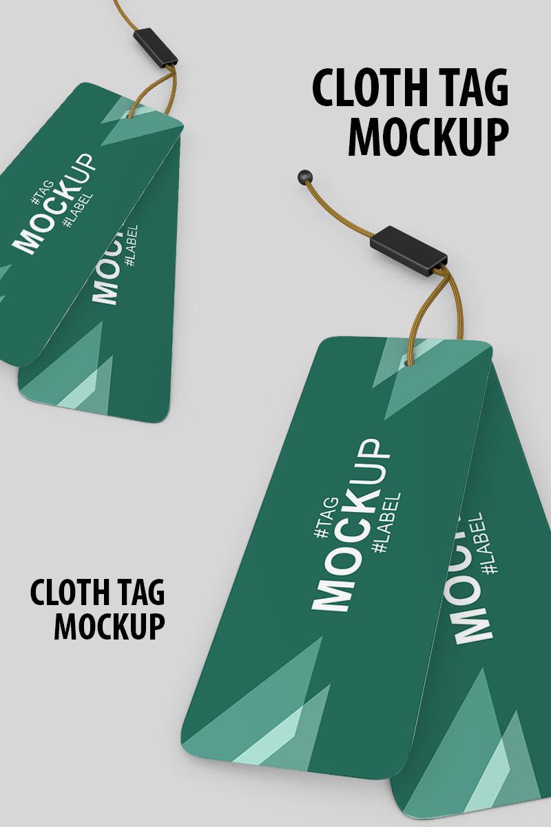 "Maketa produktu ""Cloth Tag"" #91239"