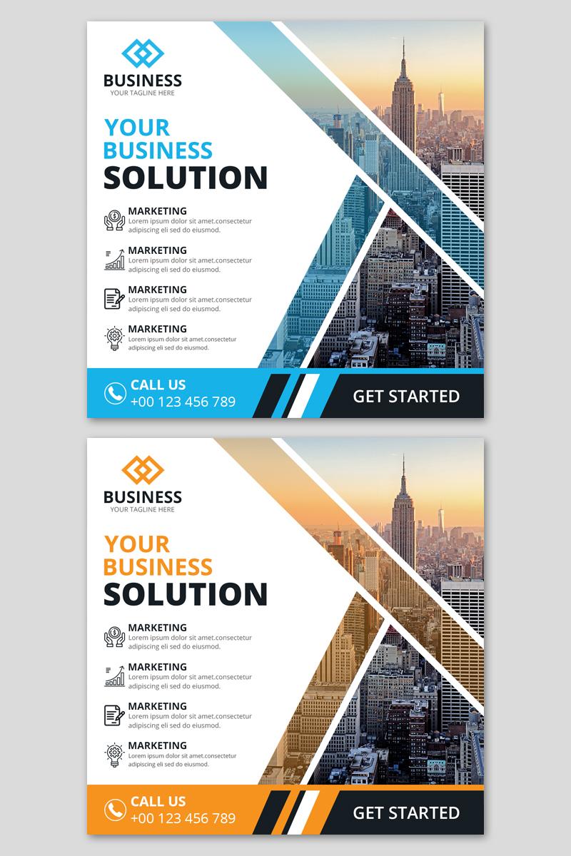 Media społecznościowe Corporate Instagram Post Banners #91285