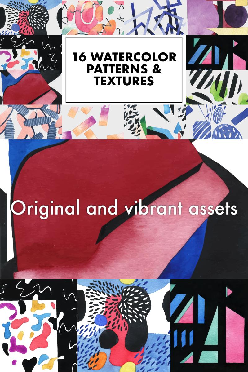"""Modello Pattern #91256 """"NEART Artistic Watercolor Vector"""""""