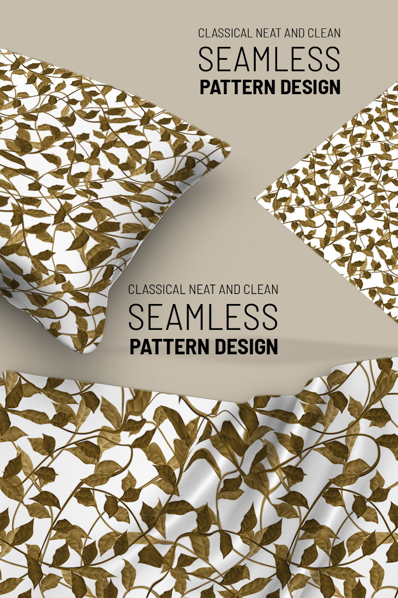 "Pattern ""Abstract floral hand drawn seamless design"" #91260"