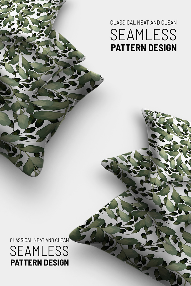 """Template Pattern #91249 """"Floral hand drawn beautiful seamless design"""""""