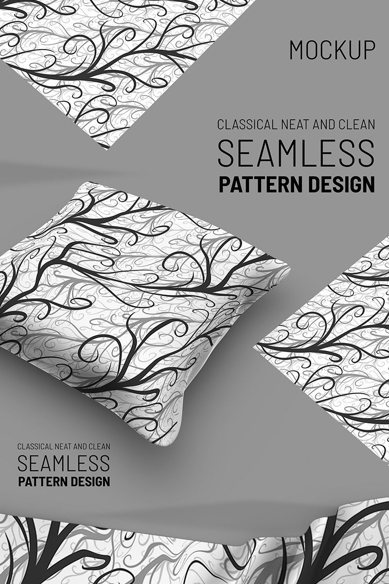 "Modello Pattern #91325 ""Abstract growing lines"""