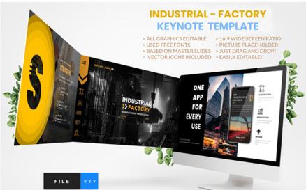 Industrial - Factory Keynote Template