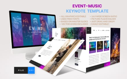 Event - Music Keynote Template