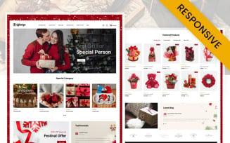 Giftoriya - Gifts Store OpenCart Template