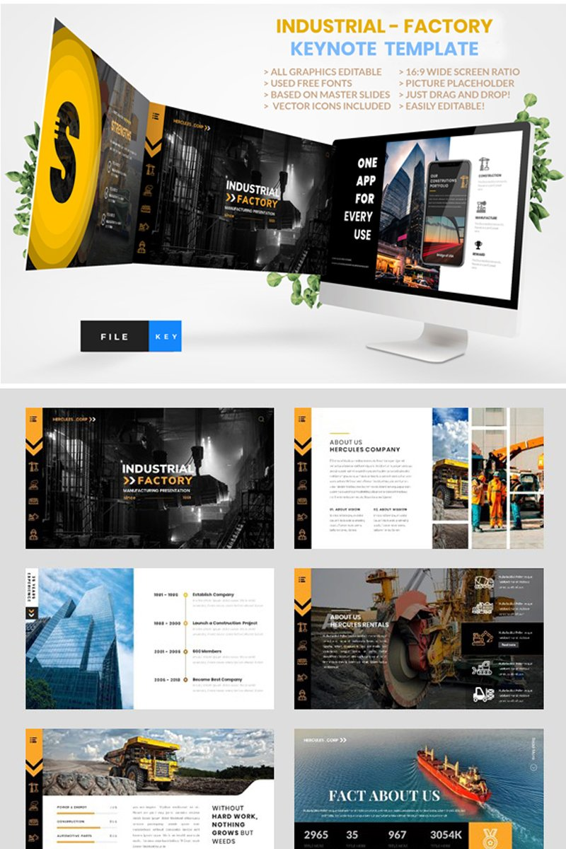 Industrial - Factory Keynote Template