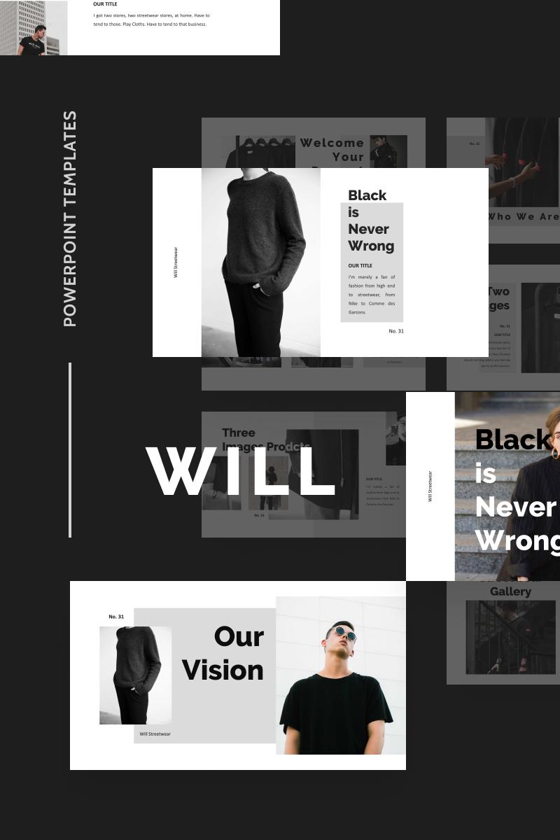 "PowerPoint šablona ""WILL"" #91538 - screenshot"