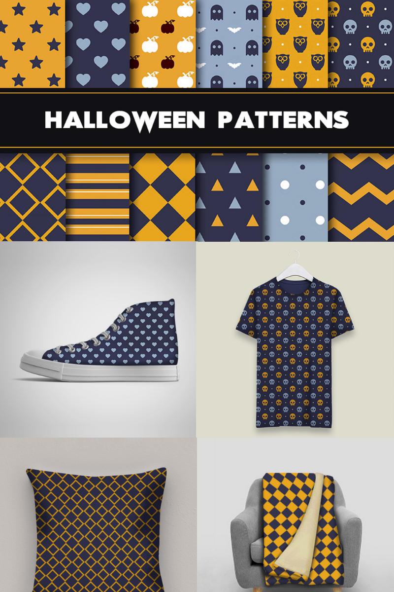 12 Scary Halloween Pattern