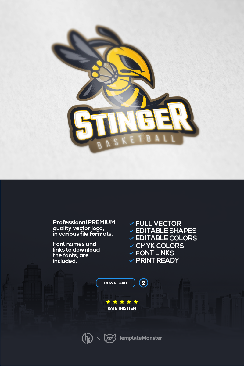 "Tema di Loghi #91644 ""Stinger Multisport"""