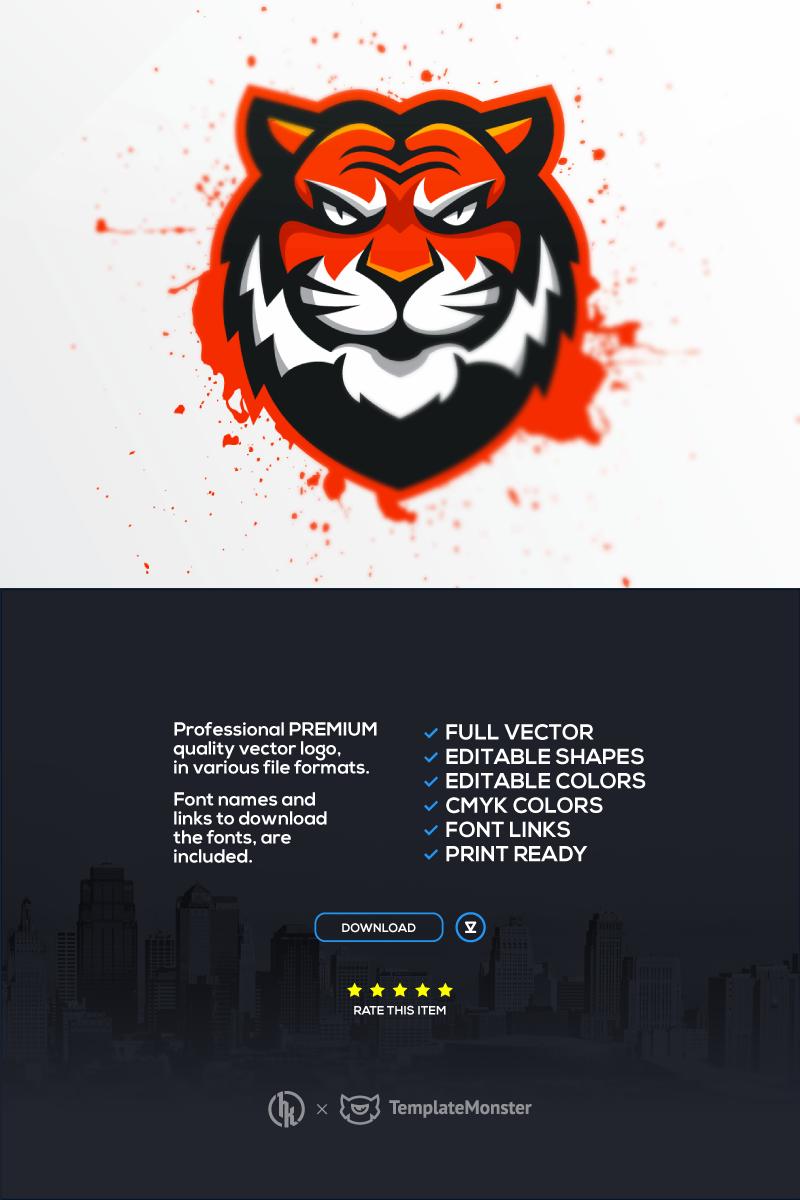 Tigers Template de Logotipo №91637