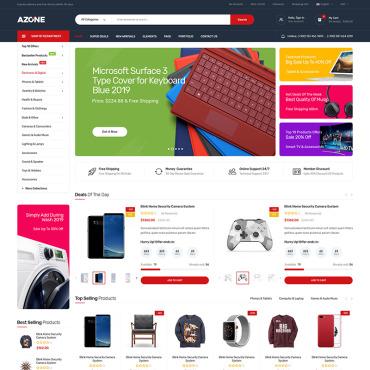Купить  пофессиональные WooCommerce шаблоны. Купить шаблон #91788 и создать сайт.