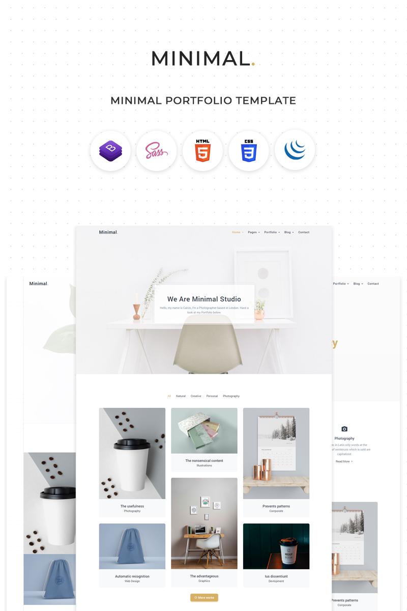 Minimal - Clean & Minimal Portfolio Website Template - screenshot