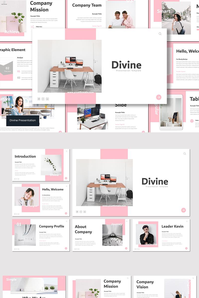 """Modello Google Slides #91796 """"Divine"""" - screenshot"""