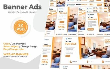 Real Estate Google Ads Web Banner V.1 Social Media