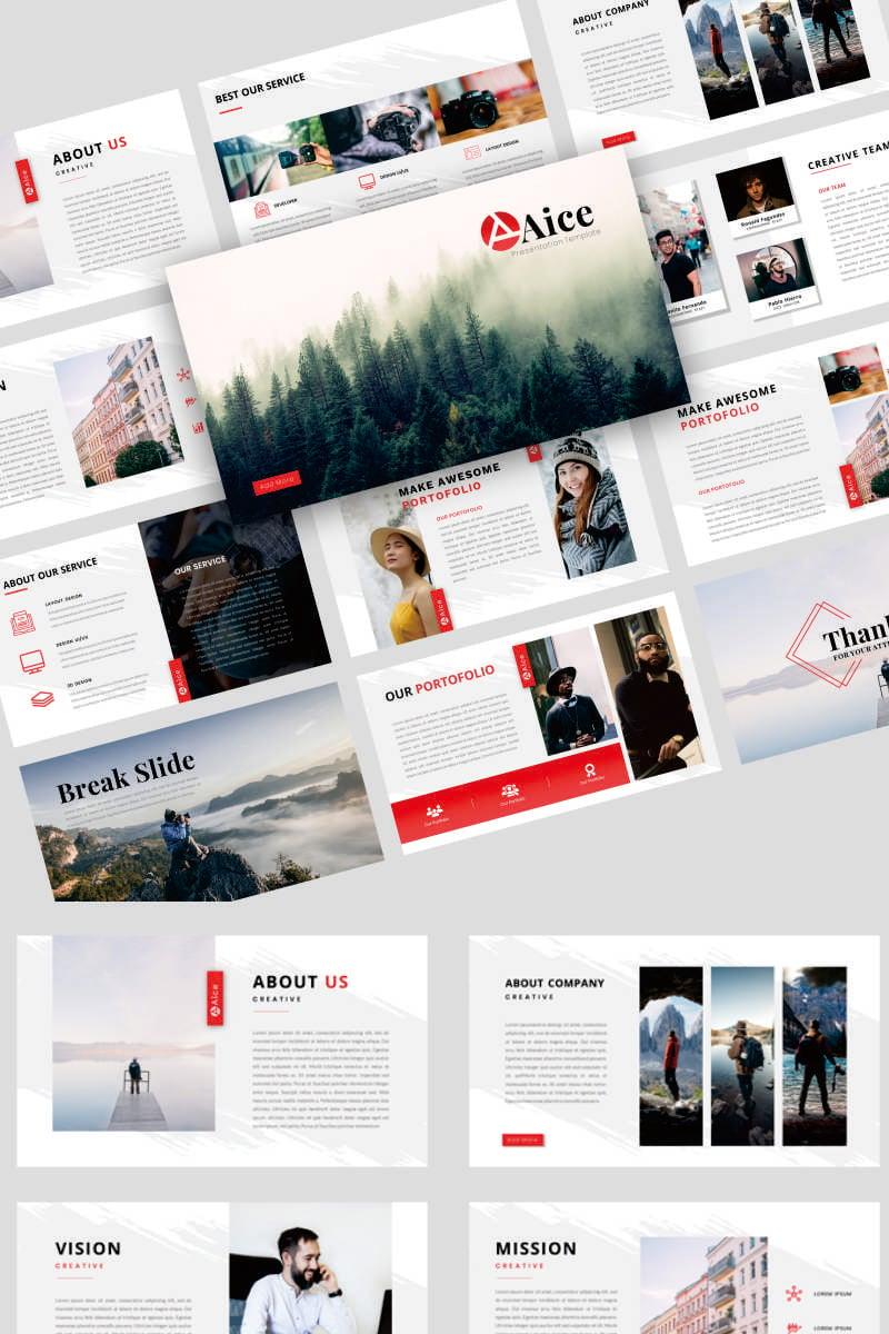 Aice - Creative Business Powerpoint #91832