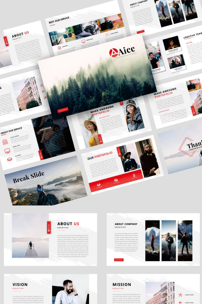 Aice - Creative Business PowerPoint Template