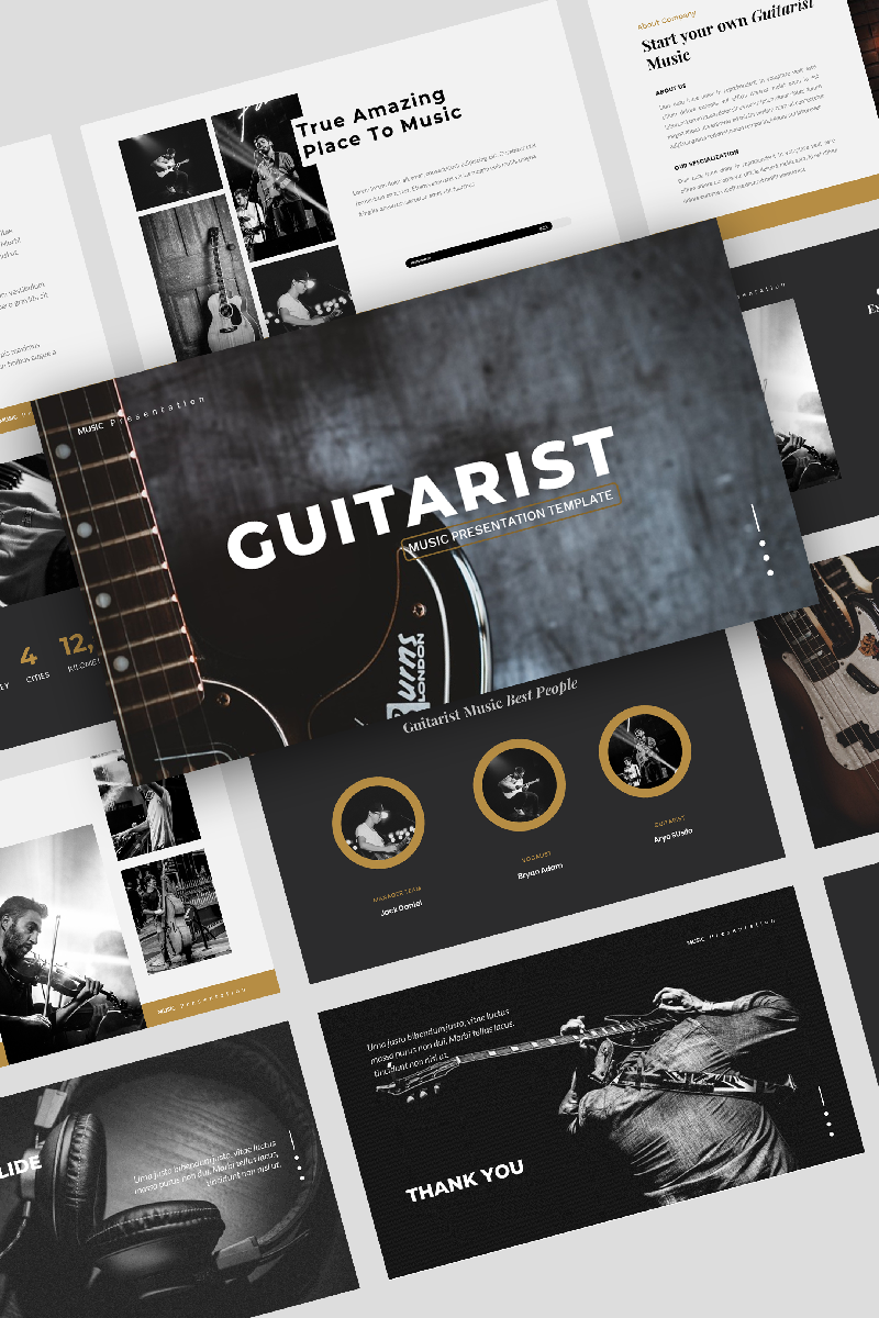 Guitarist – Music Powerpoint #91833