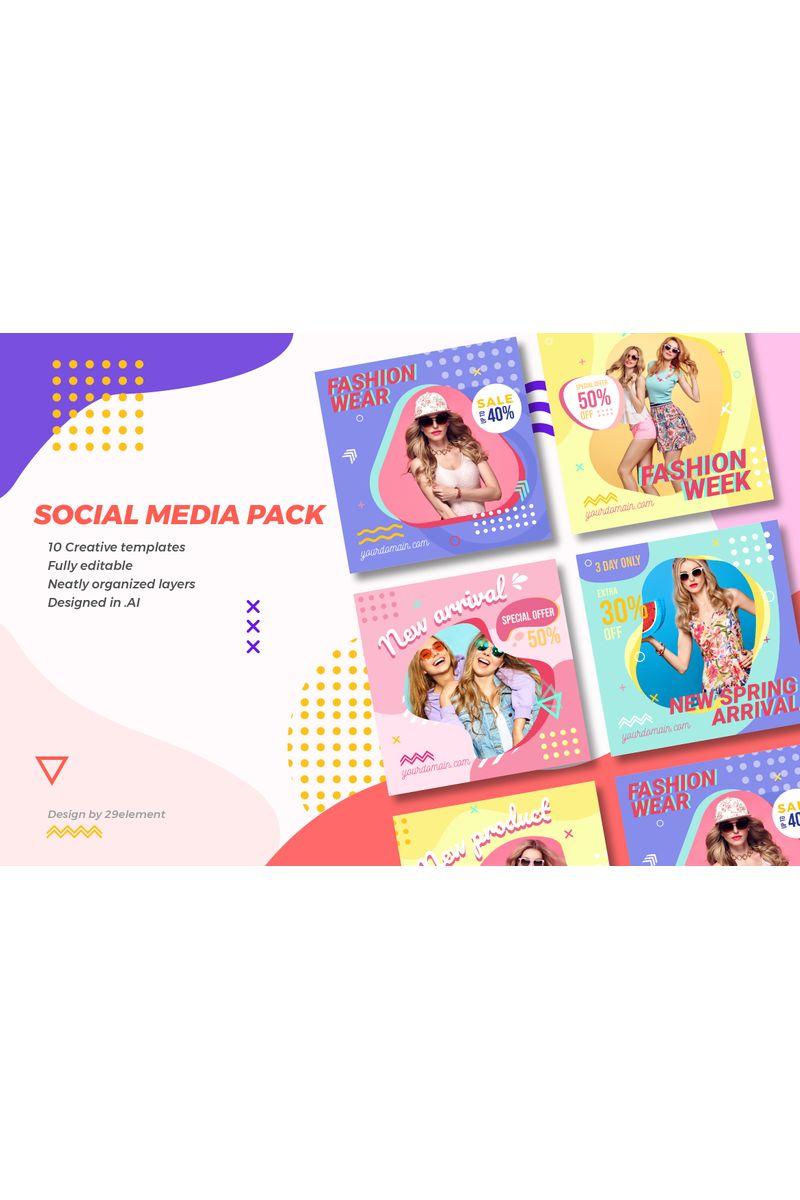 Instagram Fashion Banner V.1.1 Social Media