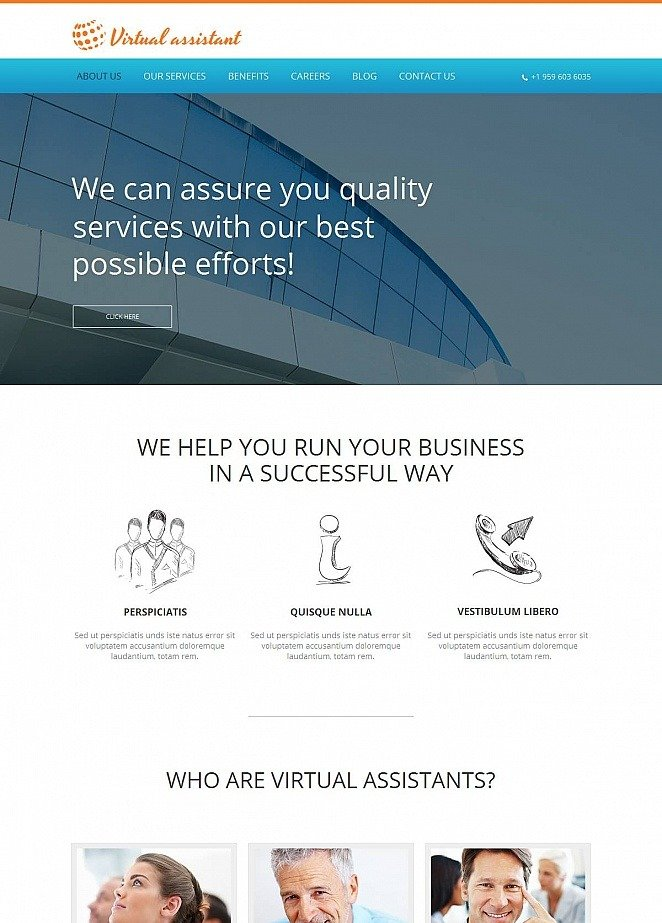 online business consulting website template motocms